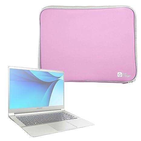 "DURAGADGET Funda De Neopreno Rosa para Portátil LG gram 15"" / Samsung Notebook 9 15"""