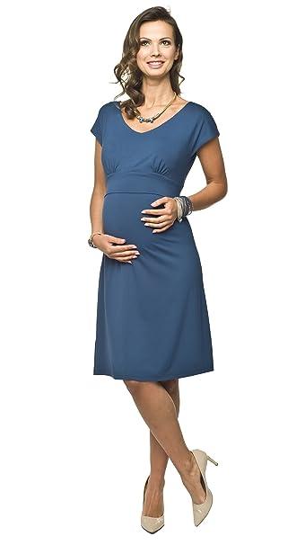 Torelle - Vestido de maternidad para mujer/maternidad de color azul oscuro de talla s