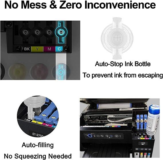 Printer Parts UV flated Printer Digital Textile Printer piezo Photo Printer Metal sub Tank Square Metal Ink Tank Bottle Adapter Factory