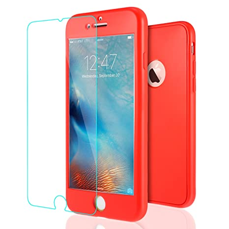 coque 360 iphone 6 rouge