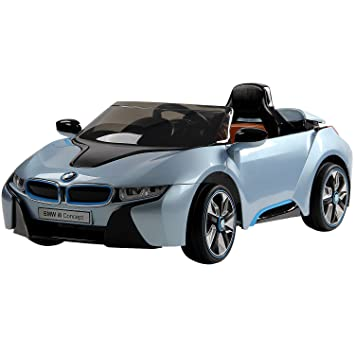 Bmw I8 Electric Ride On Car 12v Blue Amazon Co Uk Toys Games