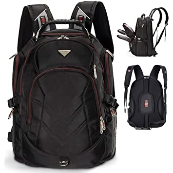 Amazon.com: Laptop Backpack, 19 Inch FreeBiz Travel Bag Knapsack ...