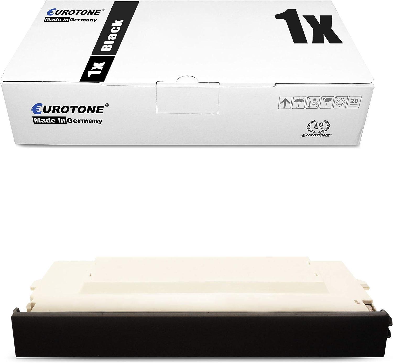 8X Eurotone Toner for Lexmark X 500 502 N Replaces Black Cyan Magenta Yellow