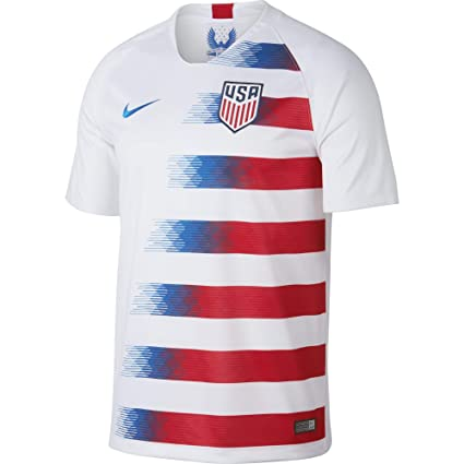 798594239c5 Amazon.com : NIKE Men's Soccer U.S. Home Jersey : Sports & Outdoors