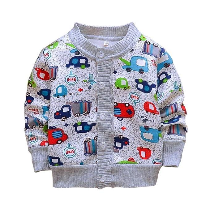 Amazon.com: Weixinbuy - Cárdigan para bebé o niño, diseño de ...
