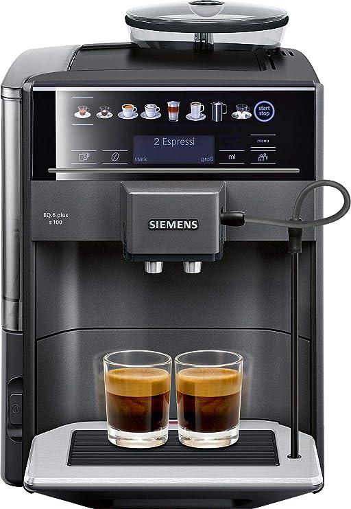 Siemens EQ.6 plus s100 Independiente Máquina espresso 1,7 L ...