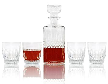 "Luminarc ""diamond"" Juego de Whisky decantador de cristal transparente® Set, ..."