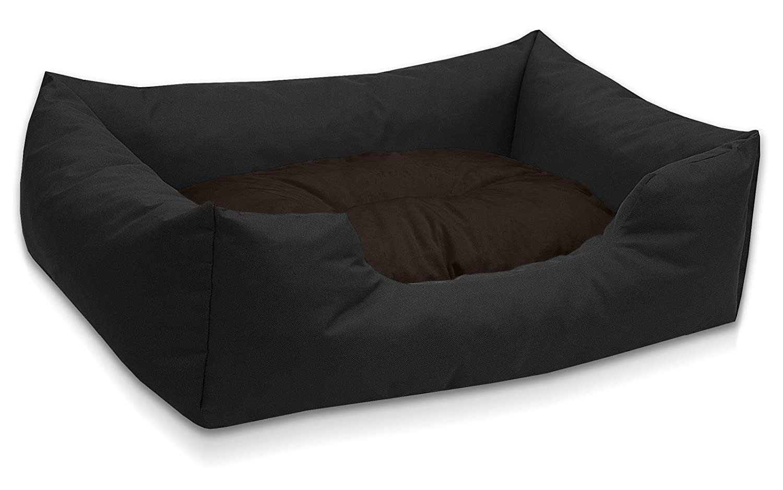 BedDog colchón para Perro Mimi S hasta XXXL, 26 Colores, Cama para Perro, sofá para Perro, Cesta para Perro, L Negro/marrón: Amazon.es: Productos para ...