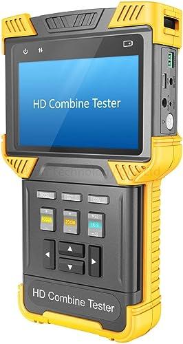 HDVD CCTV Analog IP CVI HD Combine Tester, Support ONVIF RTSP RTP, RS485 PTZ Control T62