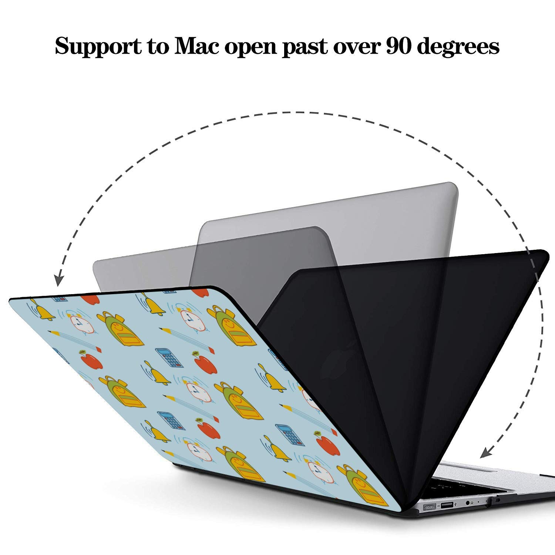 MacBook Air 2018 Case School Bag Children Backpack Ideas Plastic Hard Shell Compatible Mac Air 11 Pro 13 15 Laptop Case Mac Protection for MacBook 2016-2019 Version