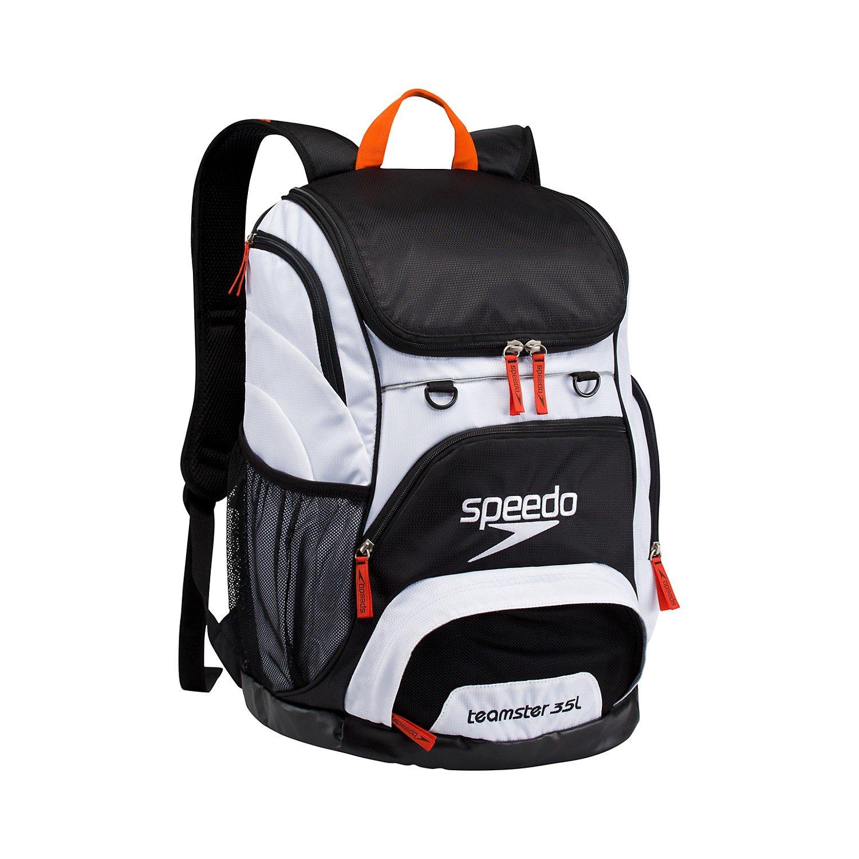 Speedo Black/White Teamster Backpack (35L)