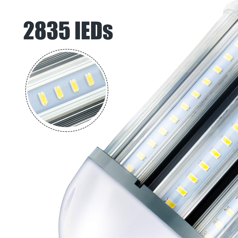 Lámpara LED Alumbrado Público Corn E40 60W 6000K Color (corn-60w): Amazon.es: Iluminación