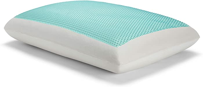 Sealy Essentials Memory Foam Gel Cooling Pillows, Standard/Queen