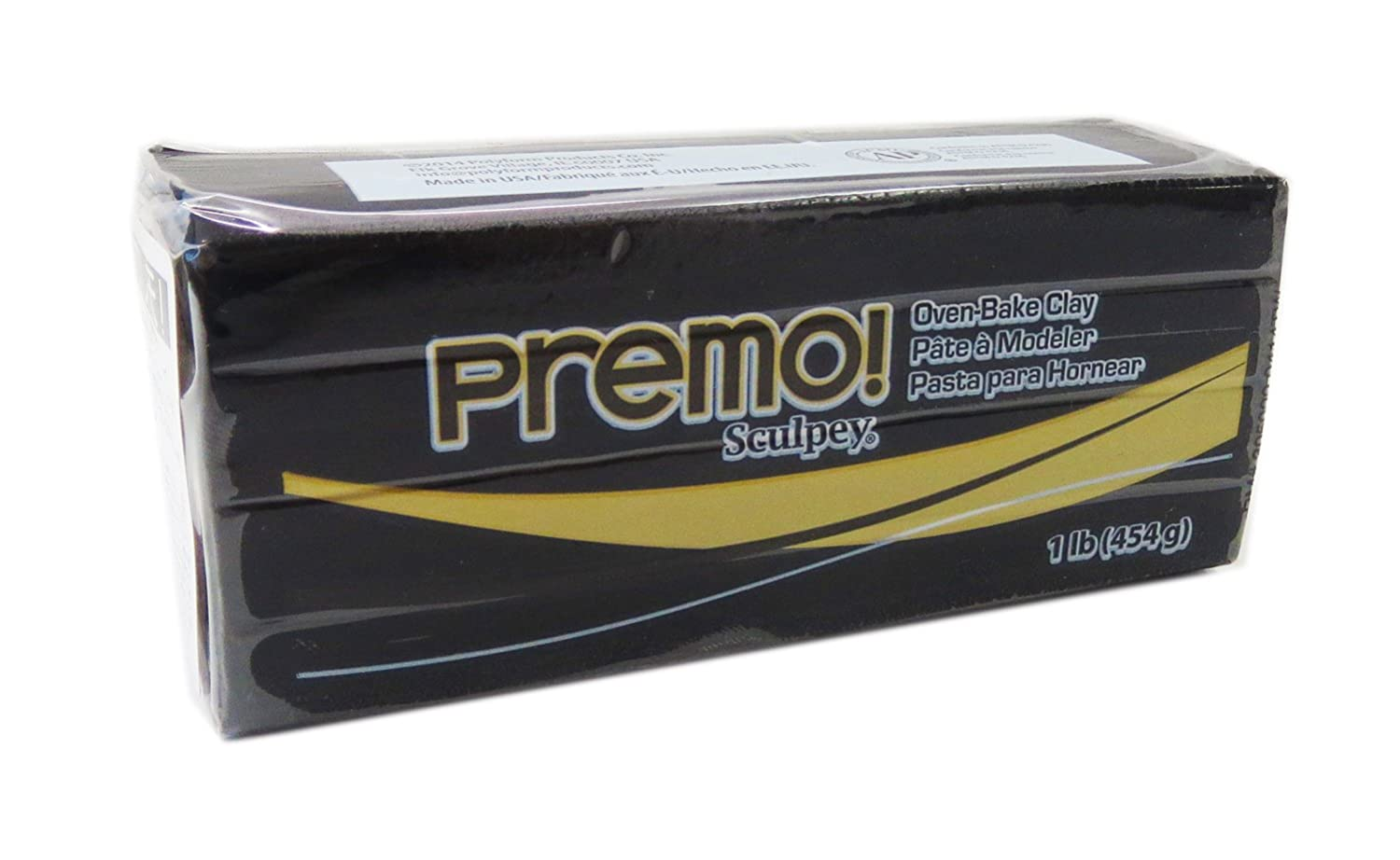 Sculpey Premo Art Clay, Black (PE1 5042)