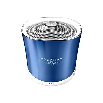 Creative Labs Woof 3 - Altavoces portátiles (Bluetooth, 3.5 mm ...