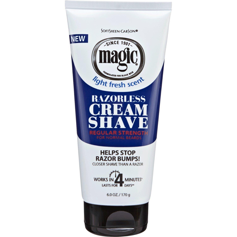 Magic Shaving Razorless Cream Regular Case Pack 6 by DDI