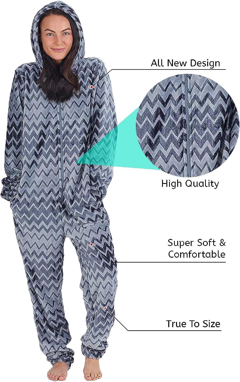 CityComfort Combinaison Pyjama Femme Kigurumi Onesie Ensemble Pyjama Licorne Cosplay Costume danimal Super Doux et Confortable Grenouill/ère pour F/ête D/éguisement