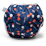 Amazon Price History for:Nageuret Reusable Swim Diaper, Lauren Holiday Collaboration Adjustable to fit babies between N-5 Diaper Sizes, Eco-Friendly (Cherrybomb)