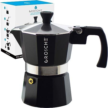 GROSCHE Milano Moka Express - Cafetera espresso: Amazon.es: Hogar