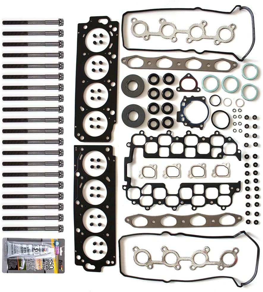 SCITOO Head Gasket Set with Bolts Replacement for Toyota Land Cruiser Sport Utility 4.7L Base