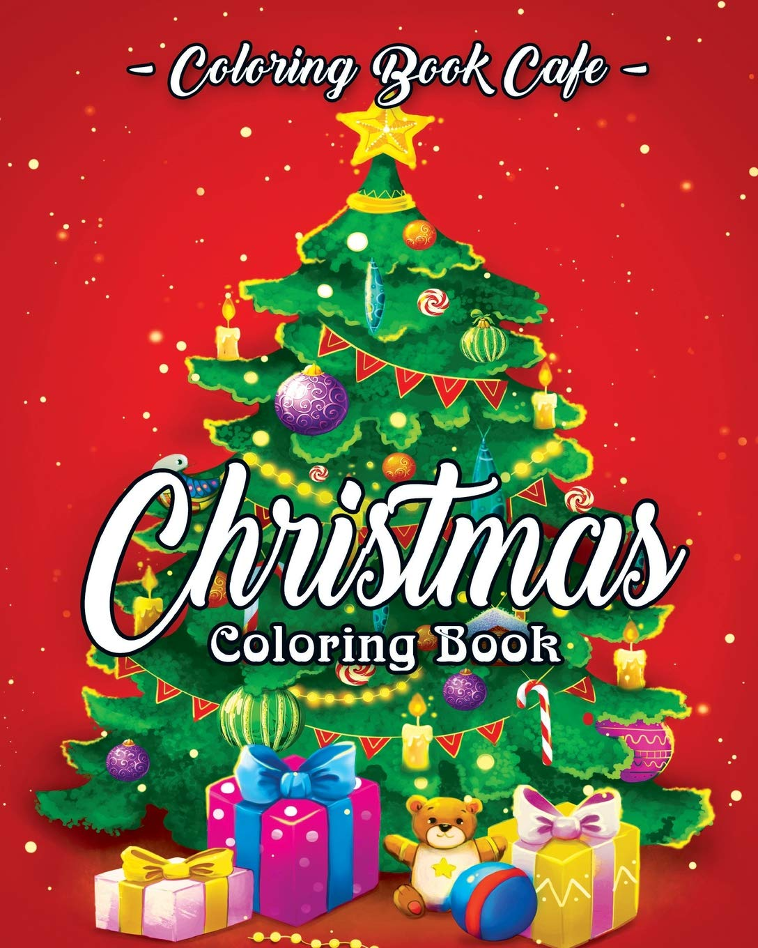 Christmas Scenes Pictures.Amazon Com Christmas Coloring Book A Coloring Book For