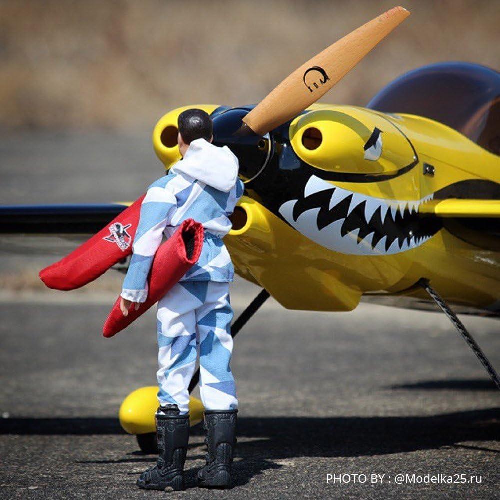 XOAR PJM White 15x8 RC Model Airplane Propeller 15 Inch Wood Gas RC Planes Prop