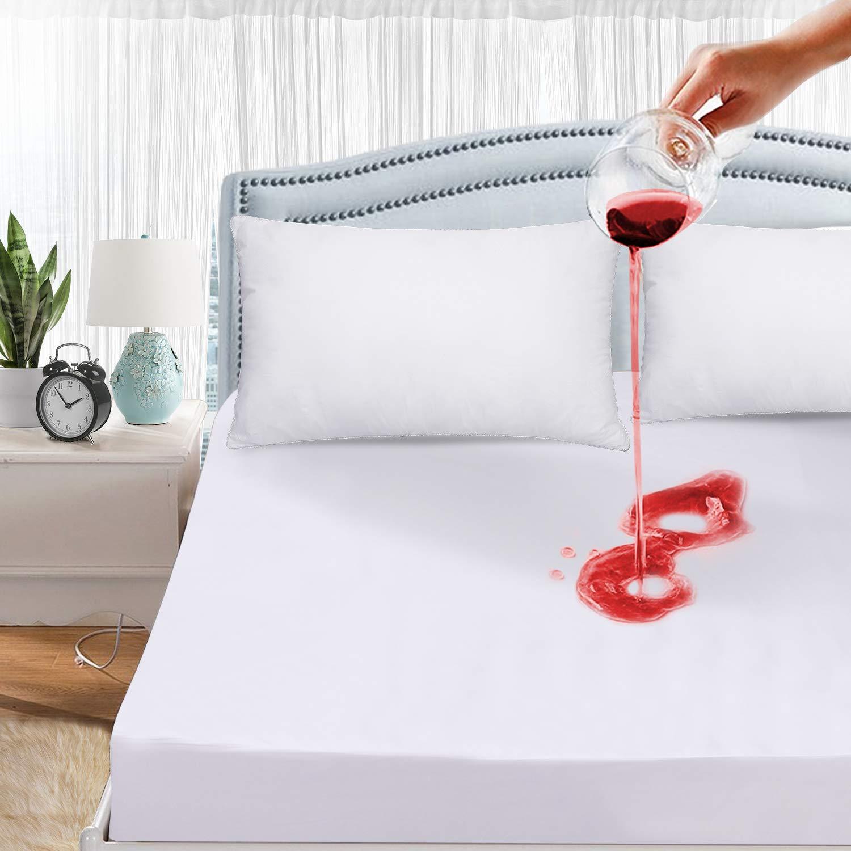 Waterproof Mattress Protector Matress Bed Cover Perfect ...