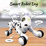 Dimple Interactive Robot Puppy With Wireless Remote Control RC Animal Dog Toy That Sings, Dances, Eye Mode, Speaks for Boys/Girls, Perfect Gift for