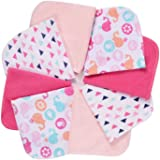 Baby Washcloths, Momcozy Ultra Soft Absorbent Towel, 8pcs Newborn Bath Face Towel, Natural Reusable Baby Wipes for Sensitive