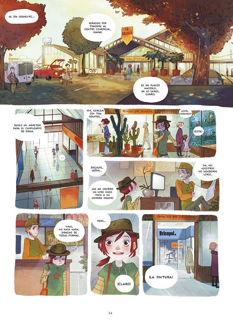 El zoo petrificado (Serie Los diarios de Cereza 1): Amazon.es: Joris  Chamblain, Aurélie Neyret: Libros