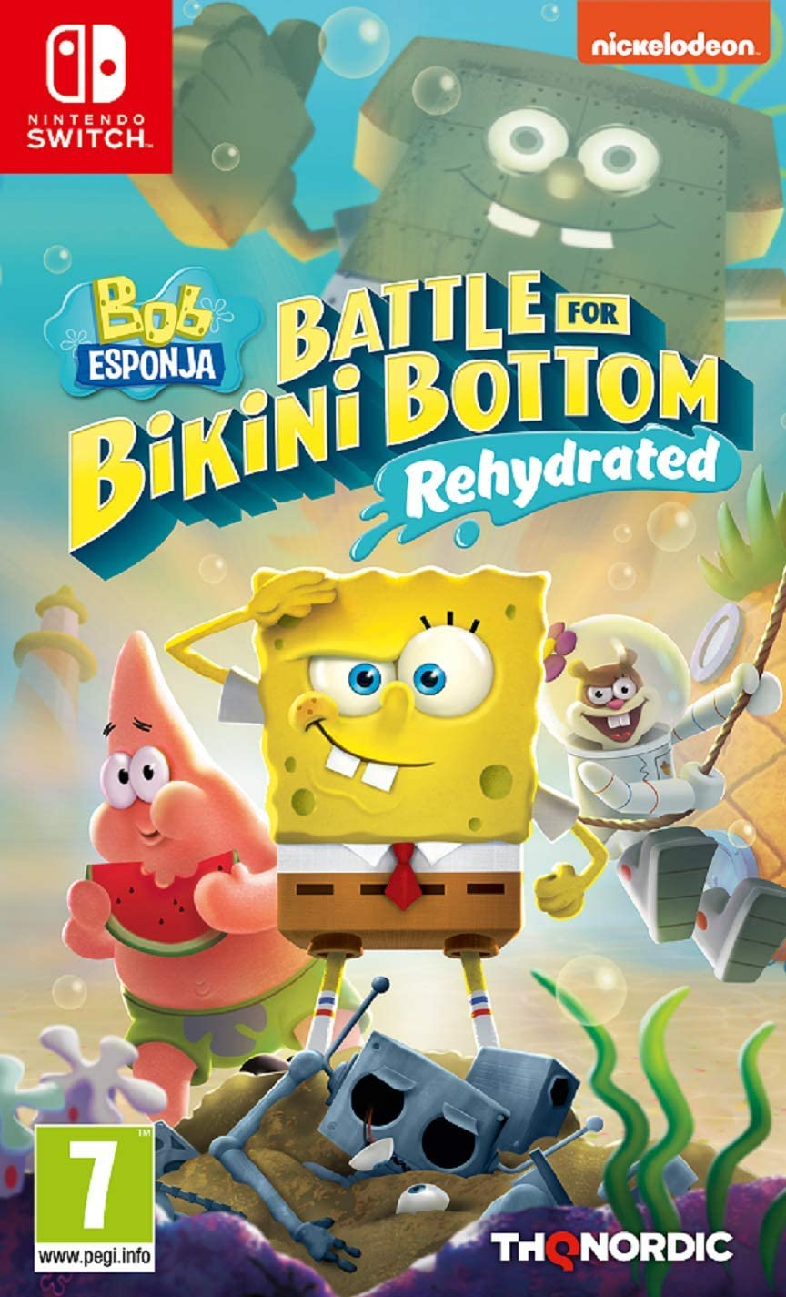 Bob Esponja Battle for Bikini Bottom - Rehydrated: Amazon.es: Videojuegos