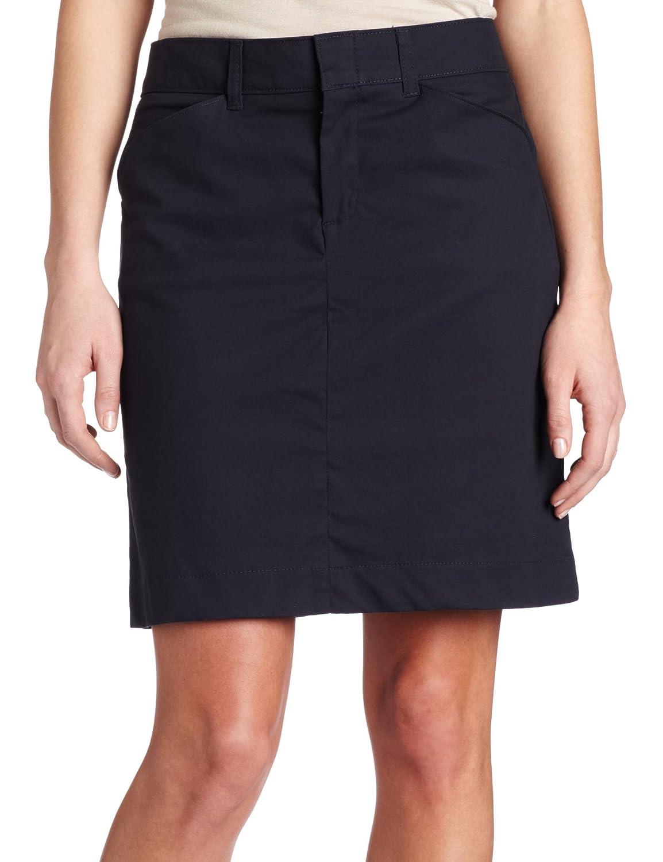 1cec835b21425 Dickies Women s 20 Inch Stretch Twill Skirt at Amazon Women s Clothing  store  Khaki Skirts