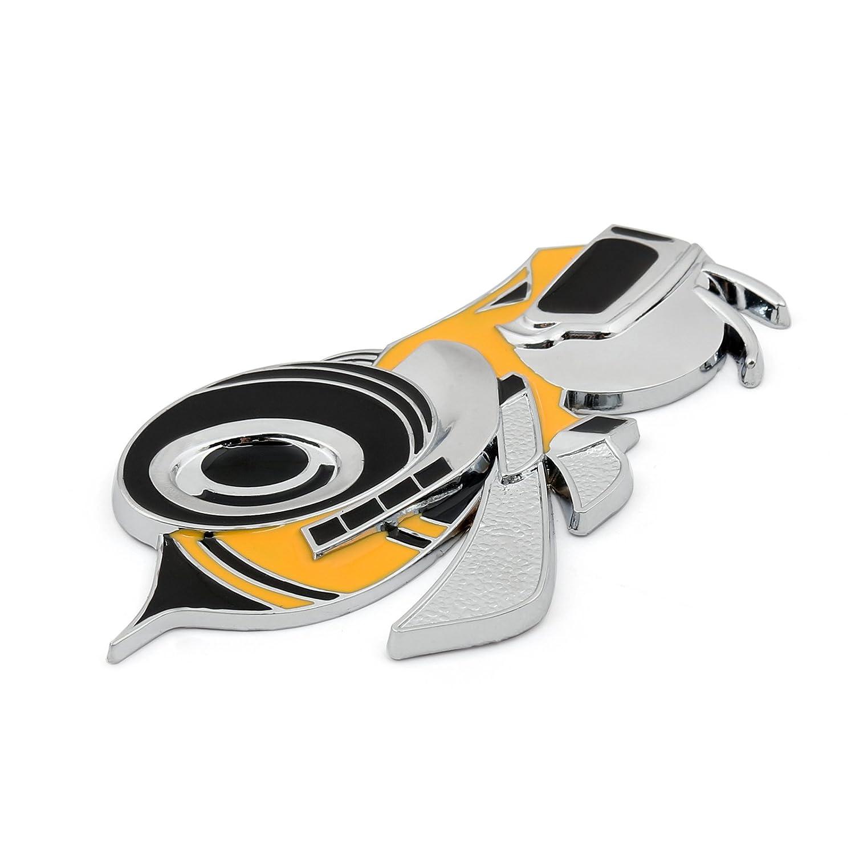 Areyourshop Super Bee Scat Pack Emblem Sticker Badge for Dodge Challenger Charger Sticker Hemi SRT Aolly