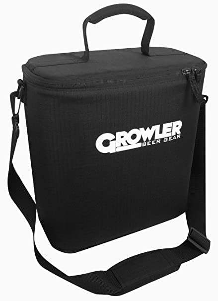 Growler Gear - Double Insulated Beer Growler Cooler Bag and Carry Case