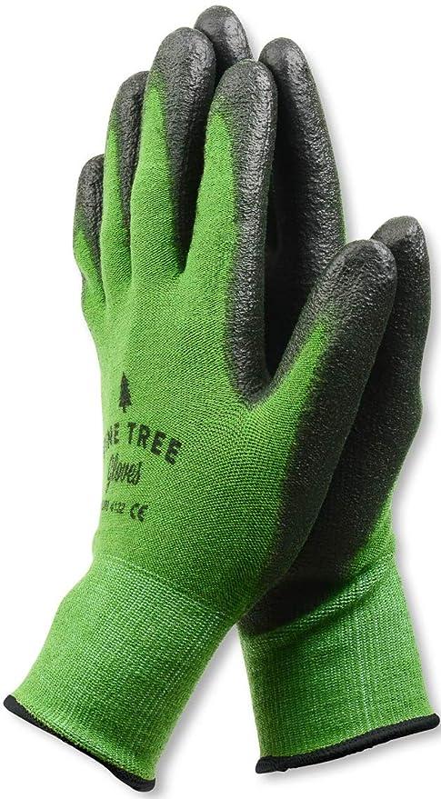 Pine Tree Tools Bamboo Working Gloves for Women and Men. Ultimate Barehand Sensitivity Work Glove for Gardening, Fishing, Clamming, Restoration Work - XL (1 Pack)