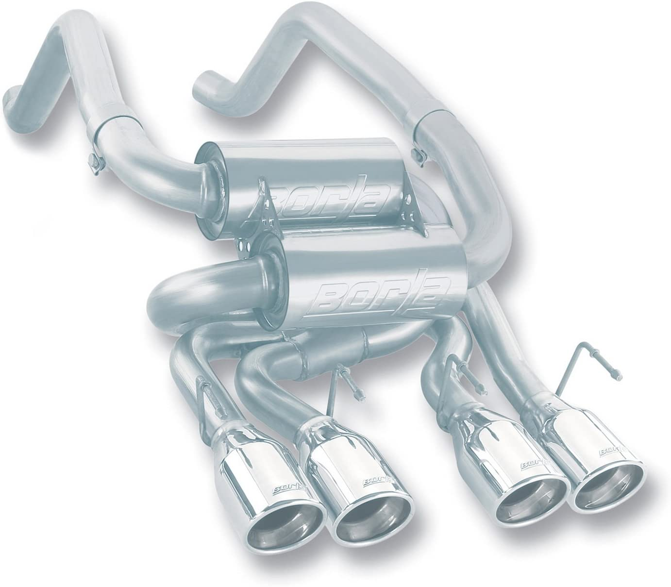 Borla 140017 Corvette Cat-BackS-Type System Exhaust