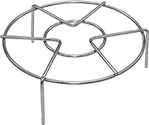 "RanRan Round Stainless Steel Steaming Rack, Trivet Rack Stand, Heavy Duty Stainless Steel Steamer Basket for Instant Pot/Pressure Cooker Accessories, 7""Diameter2.3"