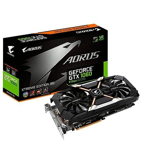 Gigabyte gv-n1060aorus x-6gd AORUS Xtreme GeForce GTX 1060 6 ...