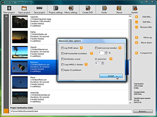 DVD Flick - DVD Creation Software - Download Version [Download]