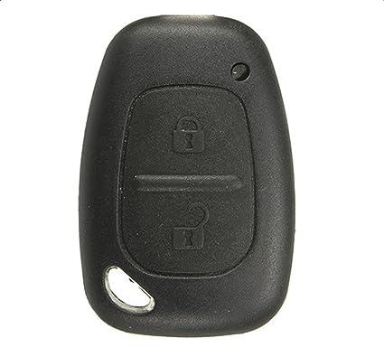 R3 Carcasa llave coche RENAULT 2 BOTONES SIN ESPADIN RENAULT ...