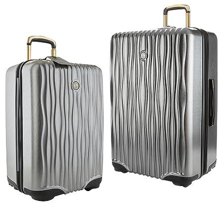 Platinum Joy Mangano Hardside Medium Carry-On Luggage