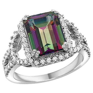 rings wedding pinterest ring on best rainbow and diamond jewelery southrernauntie engagement images mystic topaz