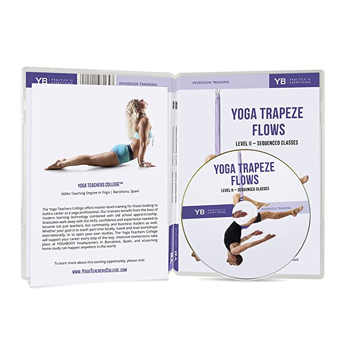 Yoga trapecio DVD Video [oficial] | 3 secuencias de flujo ...