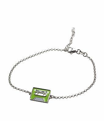 Aka Schmuck Armband Damen 925 Sterling Silber Musik Mit Emaille