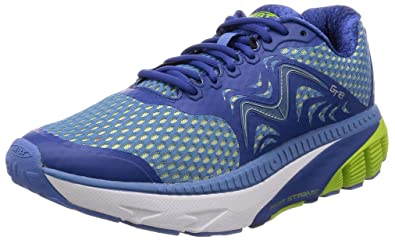 efbdf3fc5502 MBT Shoes Men s GT 18 Athletic Shoe  Navy Lemon Green 7.5 Medium (