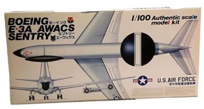 BOEING E-3A AWACS SENTRY scala 1 100 art. 002