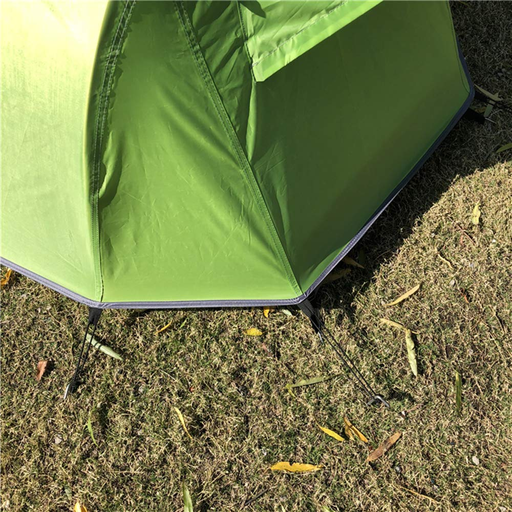 Lepeuxi Schlafen Biwak Zelt M/ückenschutz Camping Zelt Wandern Klettern Cabana wasserdichte Regenfliege Outdoor Schlafen Zelt Sonnenlicht Shelter