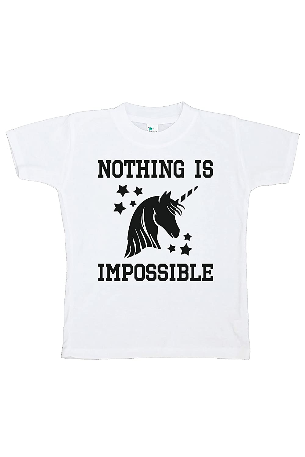 7 ate 9 Apparel Kids Nothing Is Impossible Unicorn T-Shirt