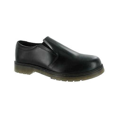 Amblers - Mocasines para niño, color negro, talla 49: Amazon.es: Zapatos y complementos