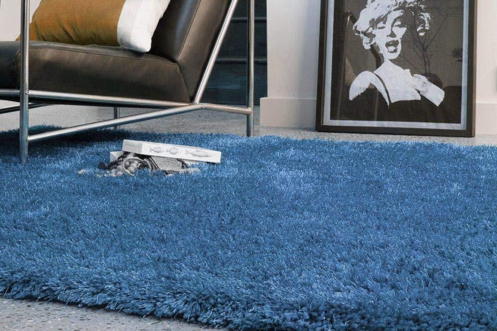 Kadimadesign Teppich Wohnzimmer Carpet Carpet Carpet hochflor Design Diva Shaggy Rug 100% Polyester 200x300 cm Rechteckig Anthrazit   Teppiche günstig online kaufen B017KNE4GK Teppiche a9d06f